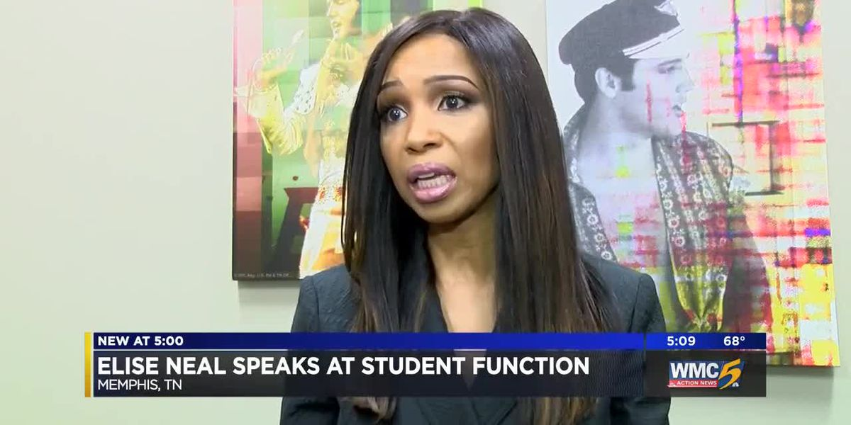 Elise Neal speaks at SCS' Parent Institute