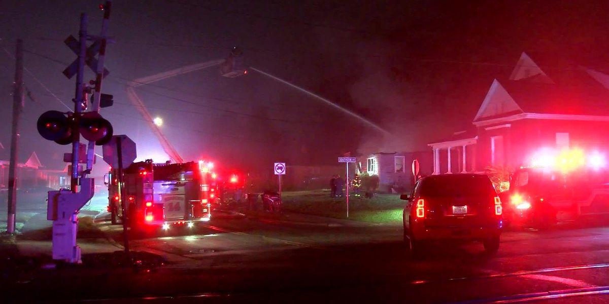 Early morning house fire near Orange Mound