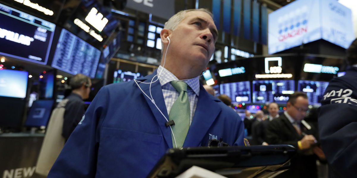 Markets Right Now: Stocks drop on China concerns, J&J sinks