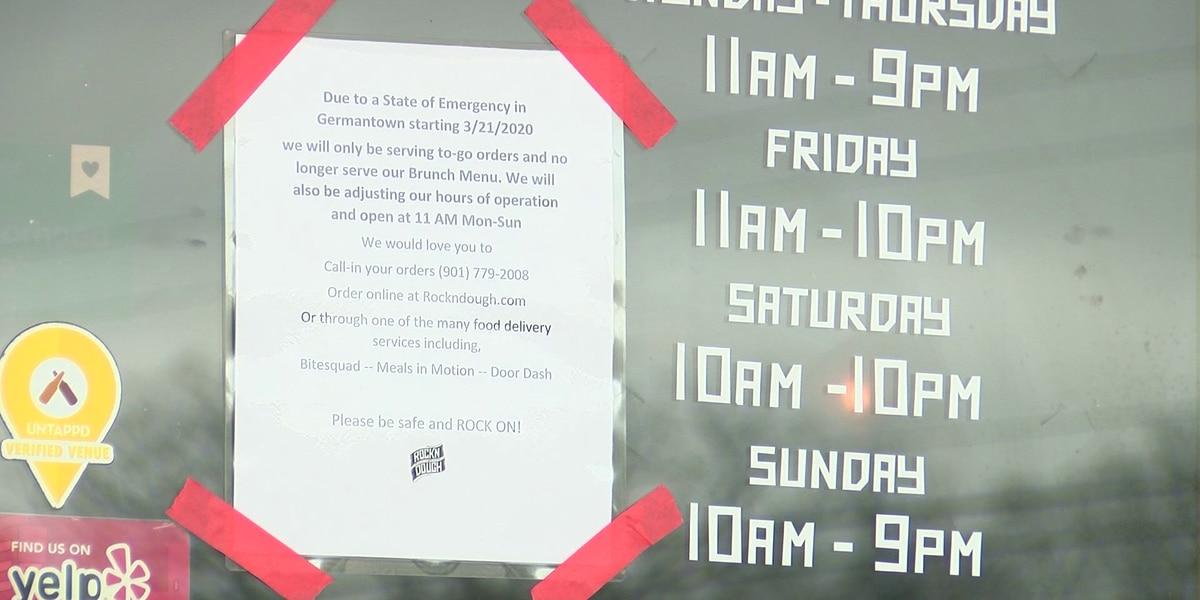 Shelby County businesses react after mayor, municipalities issue state of emergency
