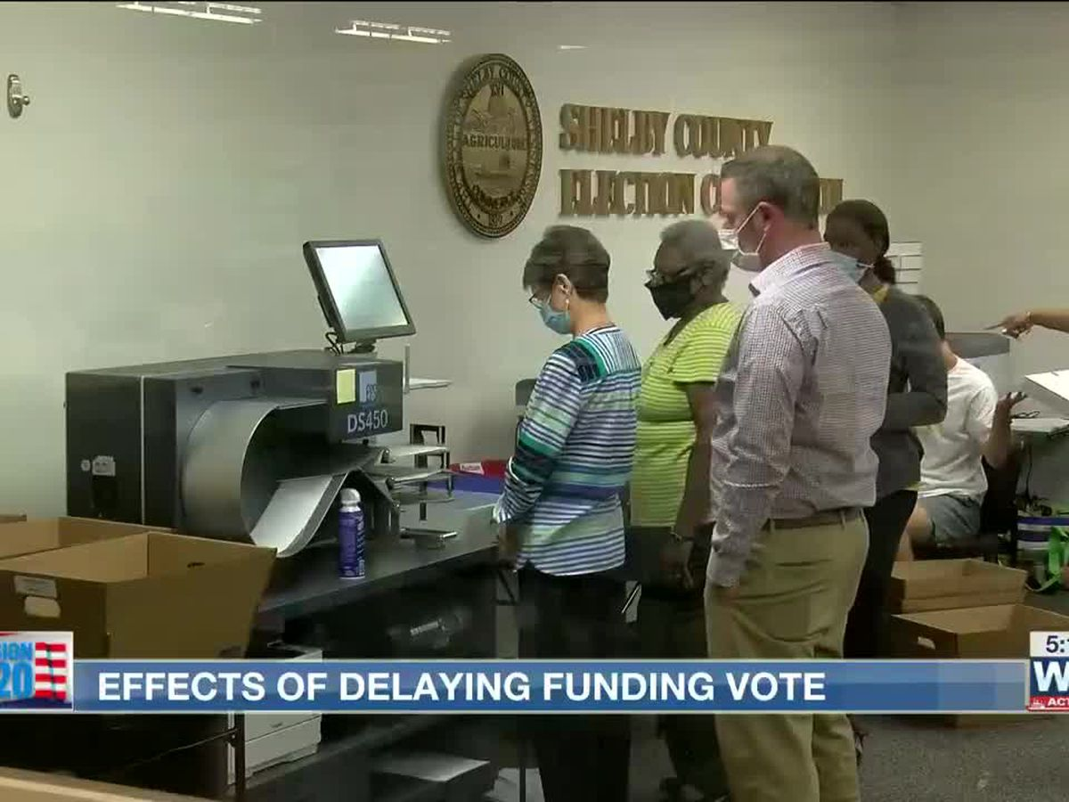 Election administrator explains time-consuming process of counting absentee ballots