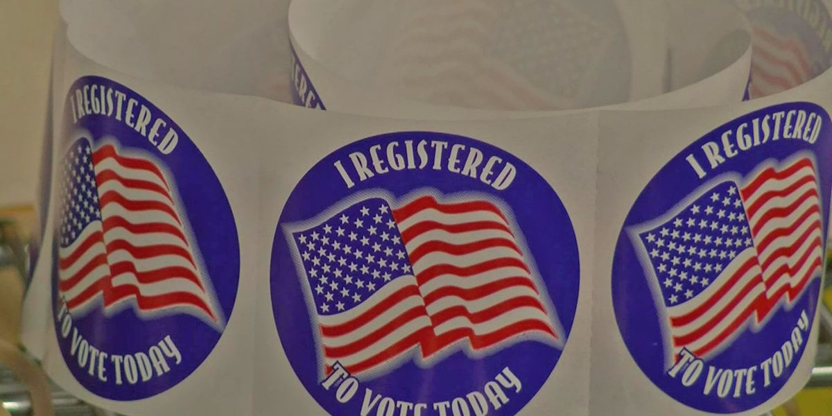 Election commission makes voter registration easy with drive-thru