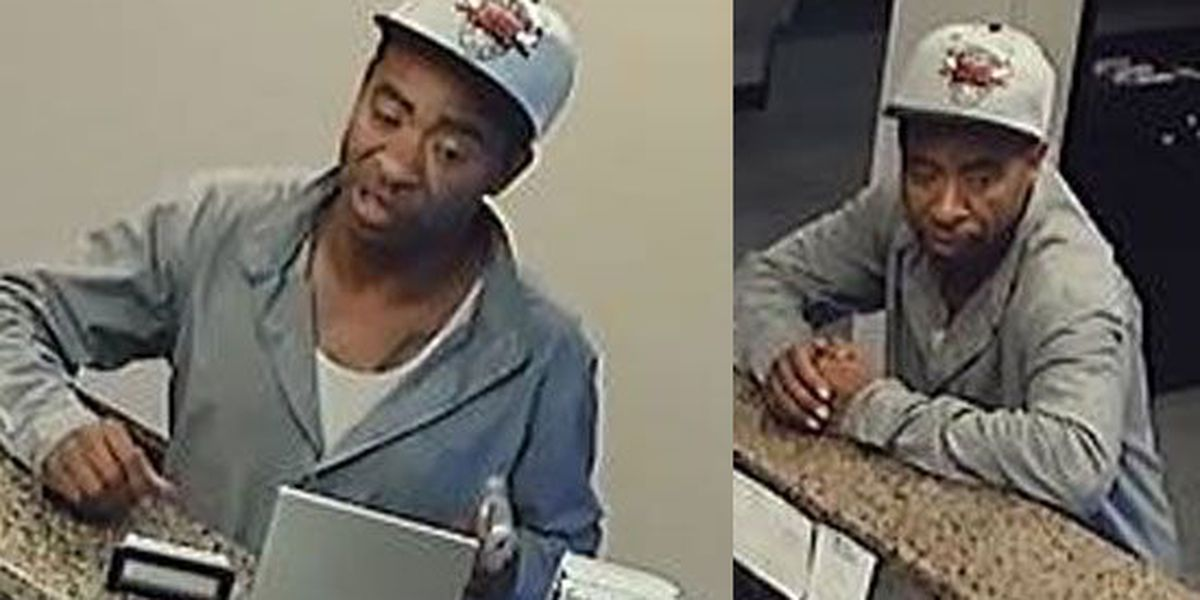 Man wanted for robbing Best Western