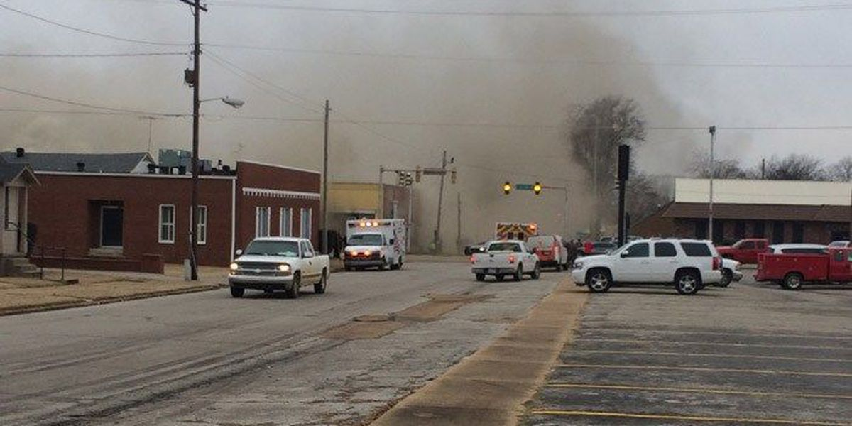 Fire crews called to major fire in Forrest City