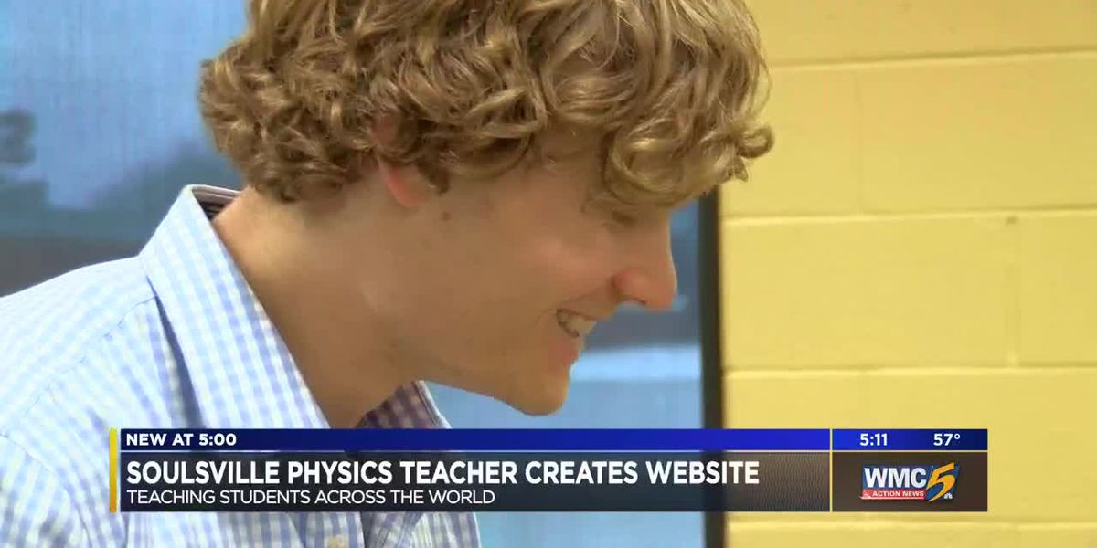 Soulsville physics teacher creates website teaching students worldwide