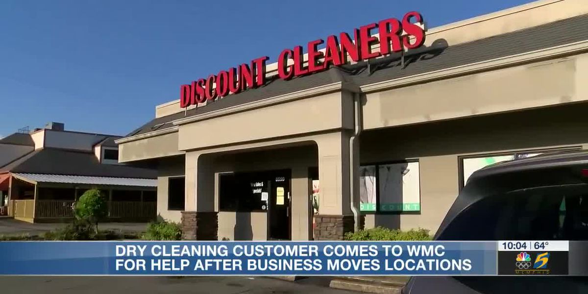 Dry cleaning customer comes to WMC for help after business moves locations