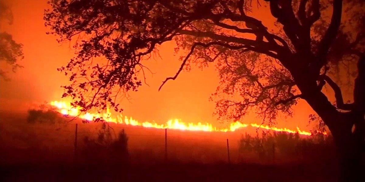 Fire danger still high in California