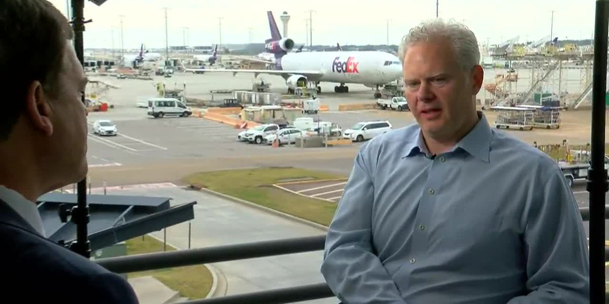 WMC exclusive: Richard Smith talks FedEx's future, from drones and robots to a billion dollar super hub