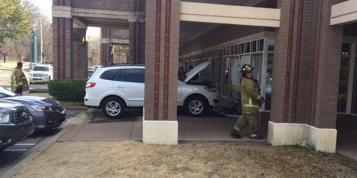 SUV crashes into Baptist Women's Health Center