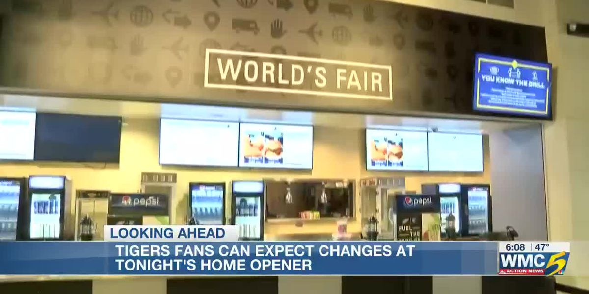 Tigers fans can expect changes at tonight's home opener