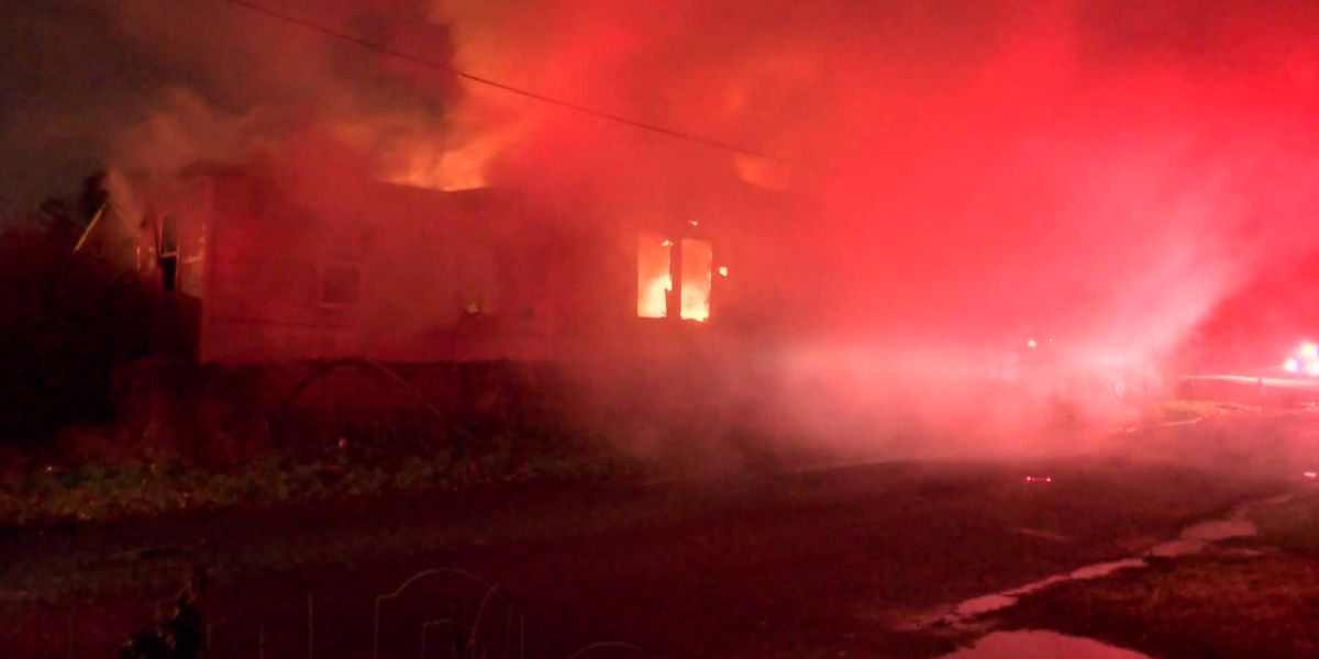 Early morning fire destroys South Memphis home