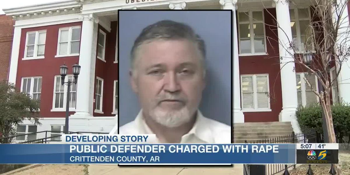 Mid-South public defender arrested, charged with rape