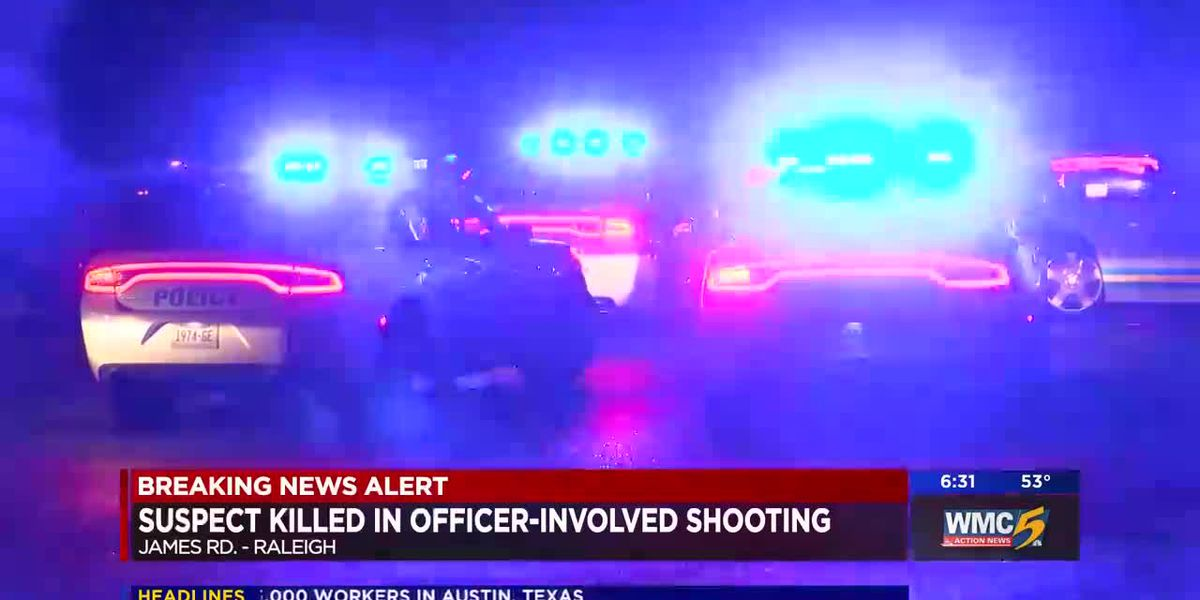 Man shot, killed by Memphis police officer