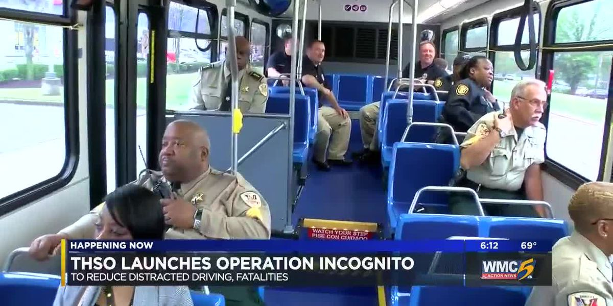 'Operation Incognito' cracks down on distracted drivers