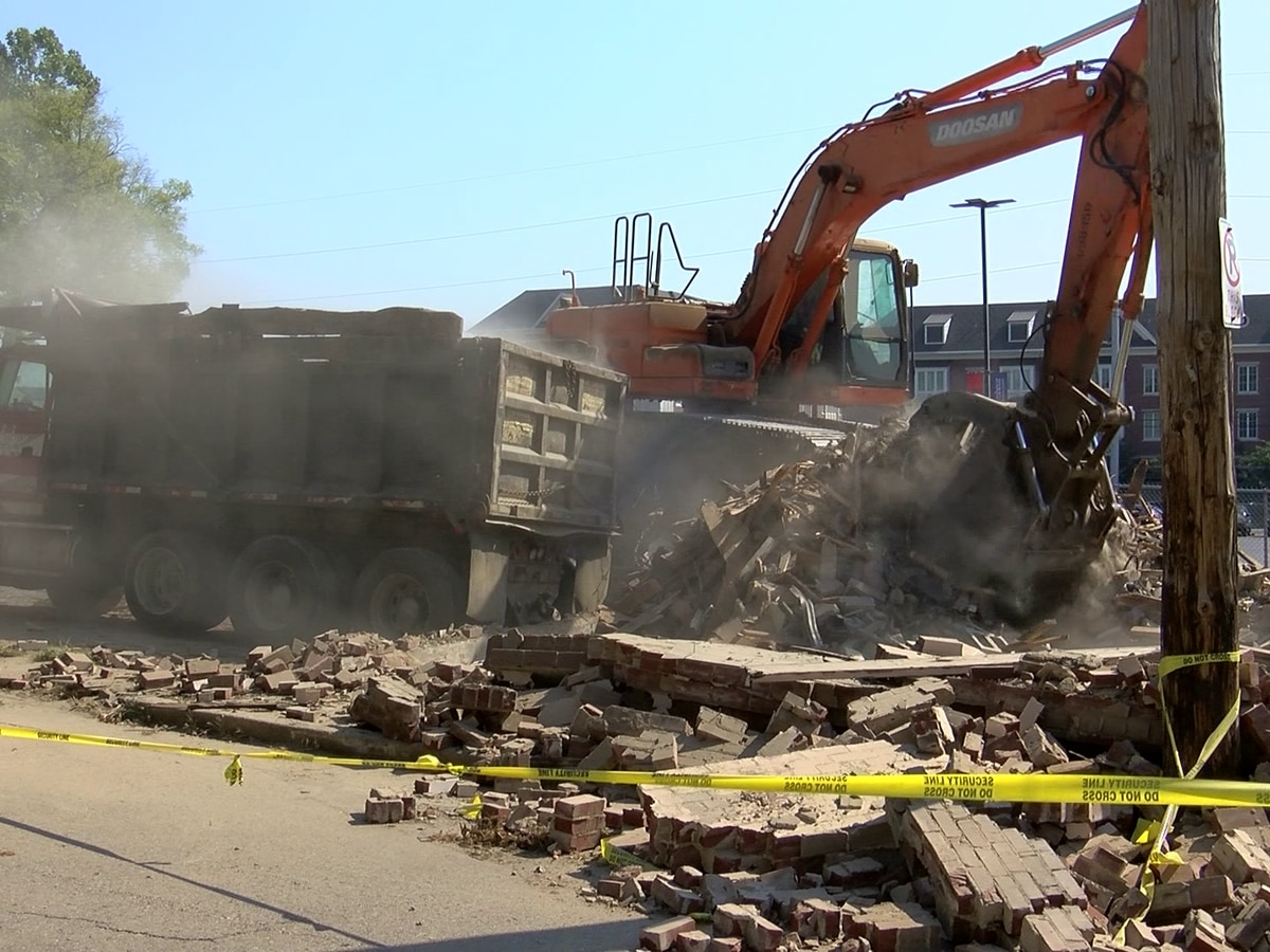 Lawsuit leads to demolition of building near Le Bonheur Children's Hospital