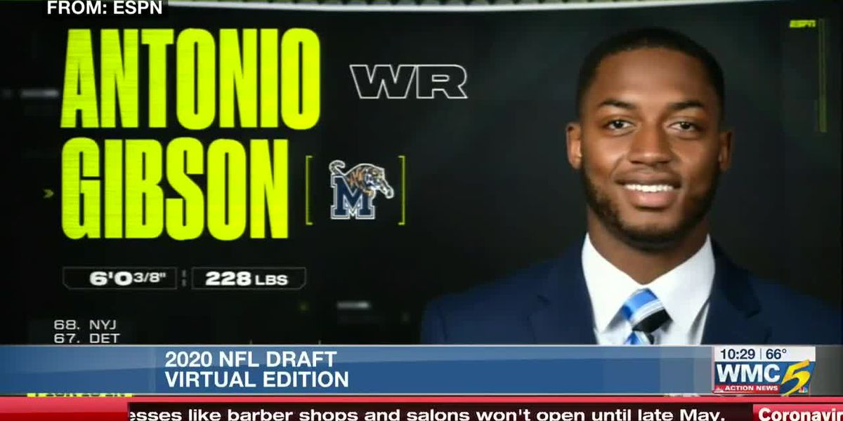U of M's Antonio Gibson gets drafted to NFL