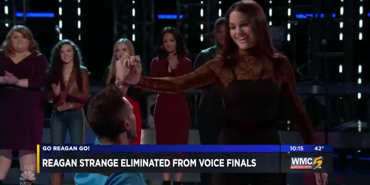 Mid-South teen Reagan Strange eliminated from 'The Voice'