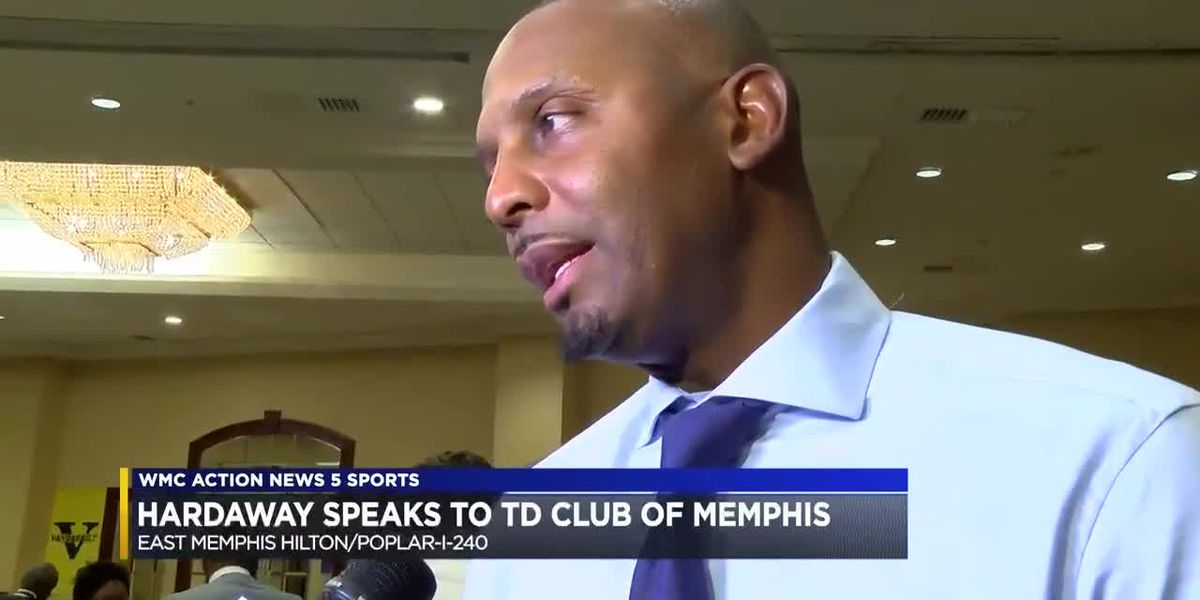Penny Hardaway speaks to TD Club of Memphis