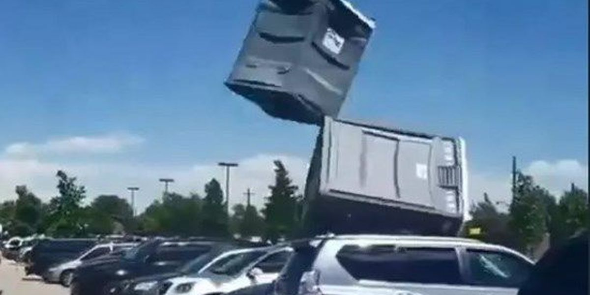BREAKDOWN: What caused a porta-potty to take flight?