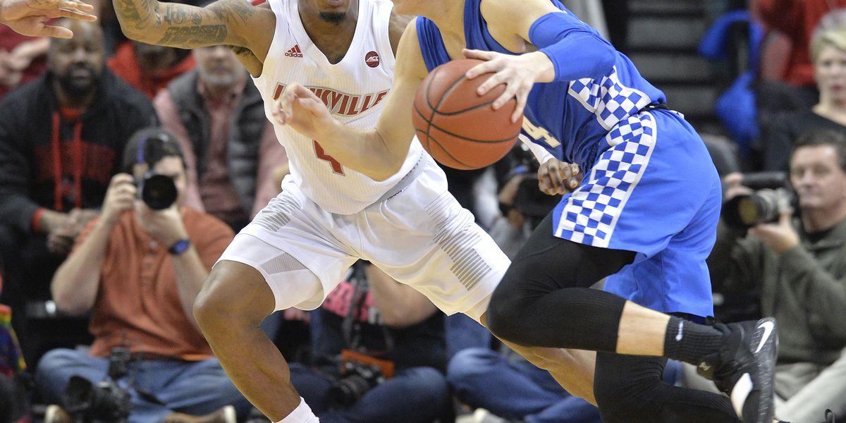No. 16 Kentucky tops Louisville 71-58 in Bluegrass rivalry