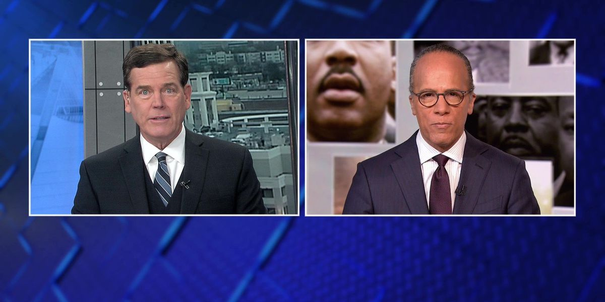 Lester Holt, Joe Birch discuss MLK special 'Hope and Fury'