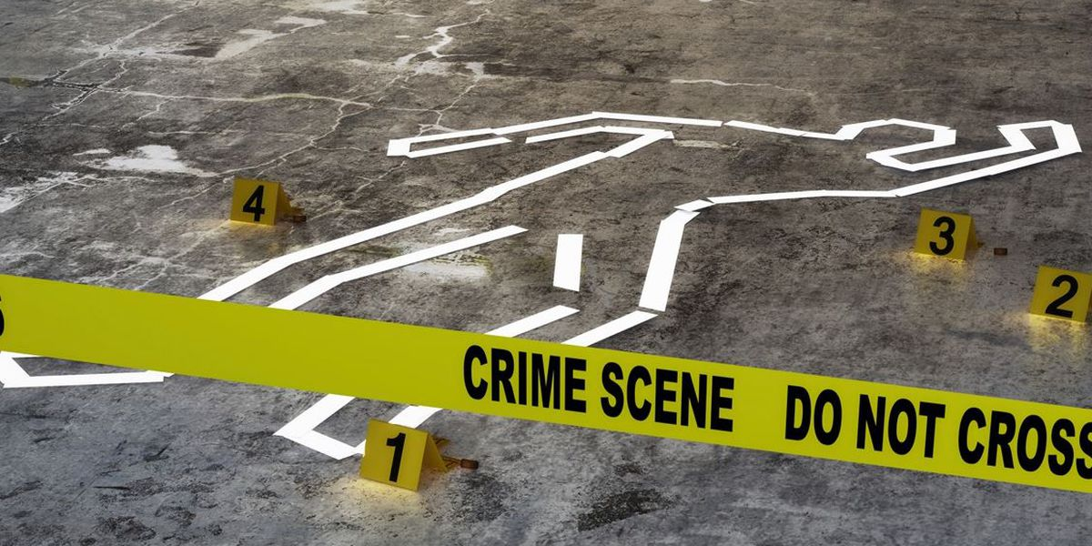 Body found behind home, sent to crime lab