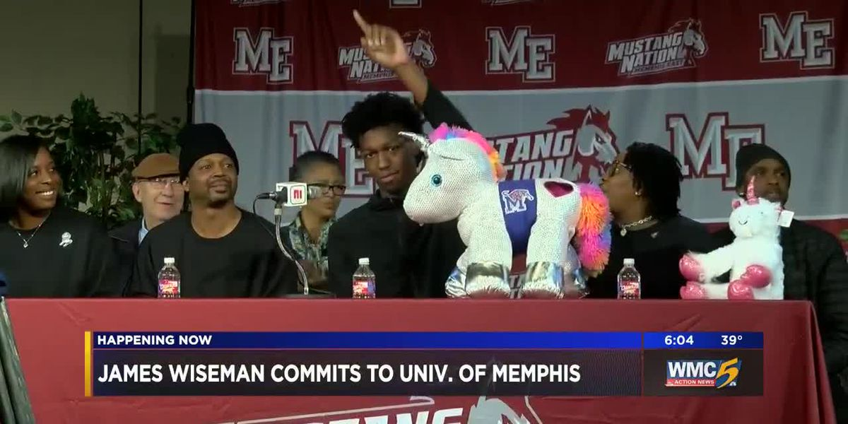 Top prospect James Wiseman commits to Memphis