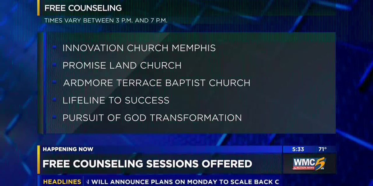 Churches host counselors for healing Frayser community