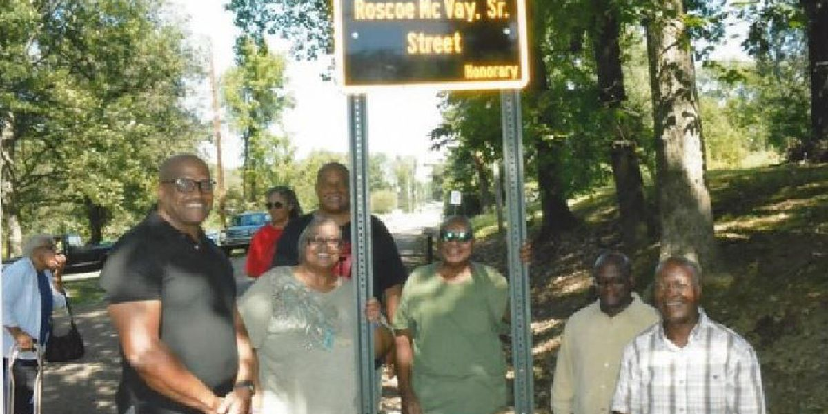 Community activist recognized with honorary street name