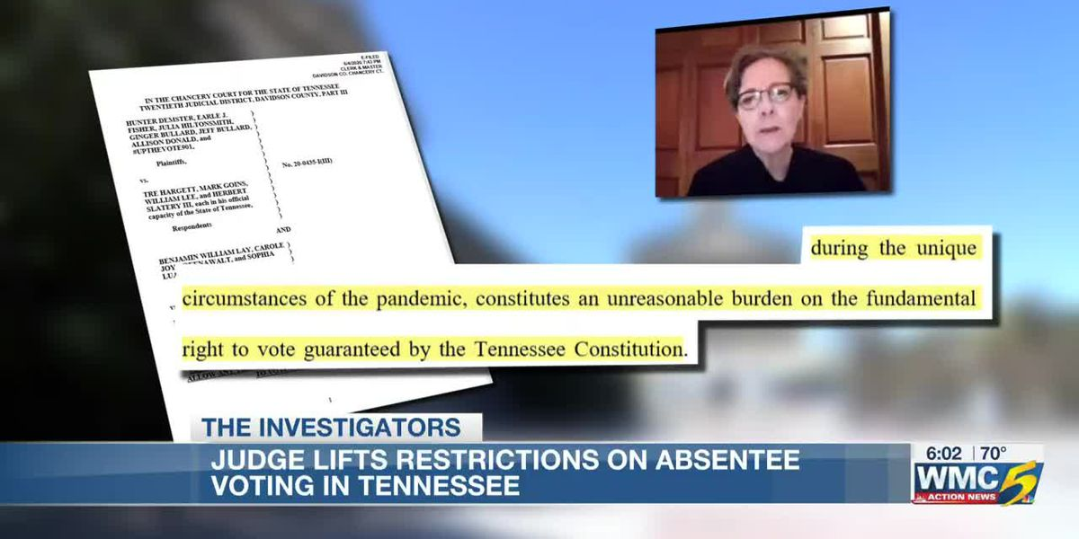 All Tennessee voters can request absentee ballots during the pandemic. What's next and how do you ge