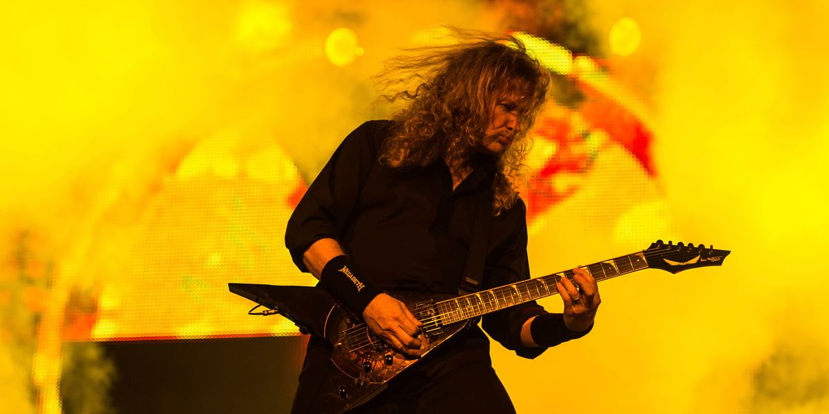 Megadeth's Dave Mustaine announces he has throat cancer