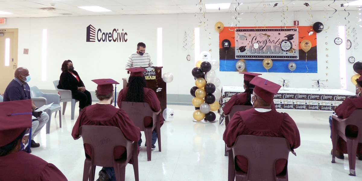21 student inmates graduate from CoreCivic's Whiteville facility