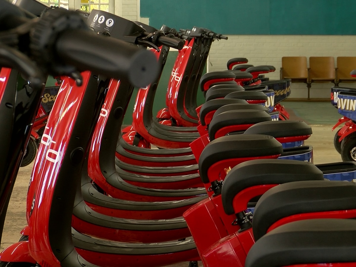 New seated scooters roll into Memphis