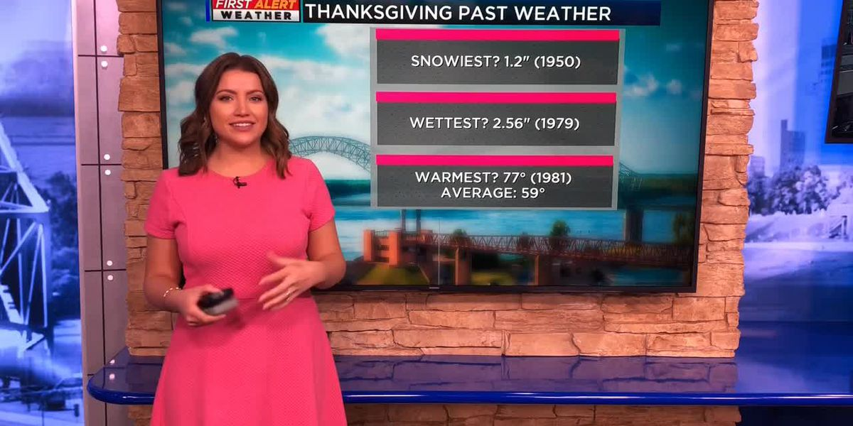 Breakdown: Why Thanksgiving weather varies so much
