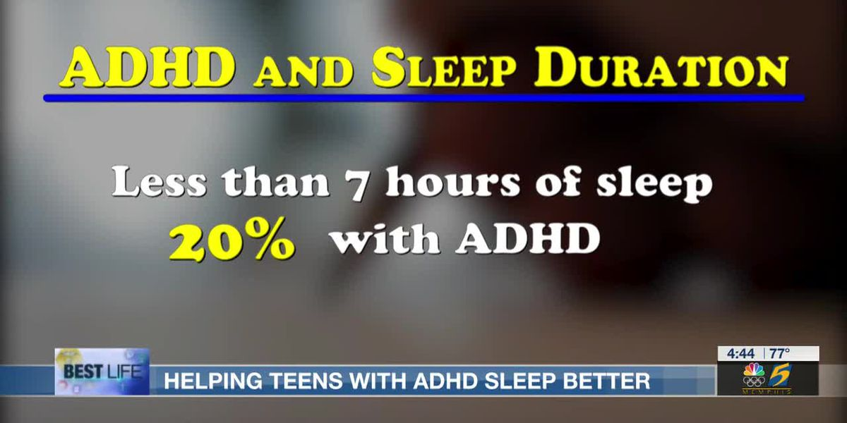 Best Life: Helping teens with ADHD sleep better