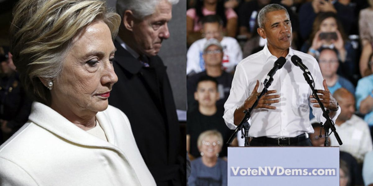 Mail bombs target Obama, Clinton, other Democrats