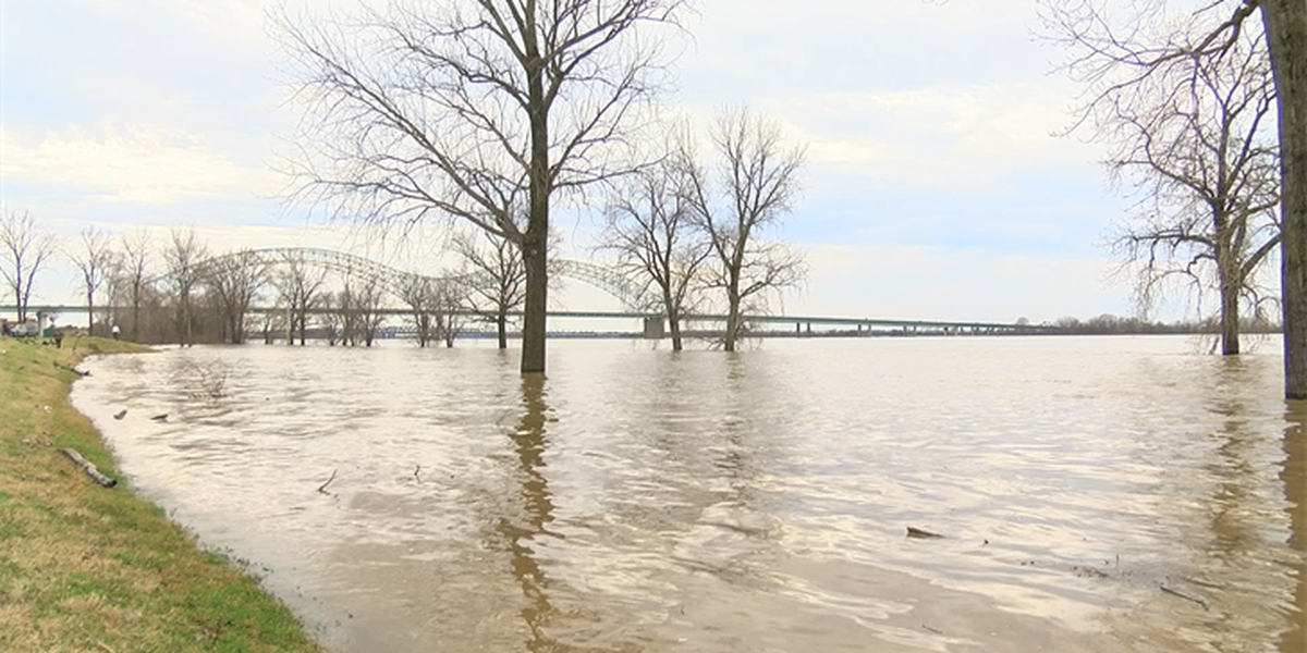 Emergency officials keep close eye on MS River with more rain expected