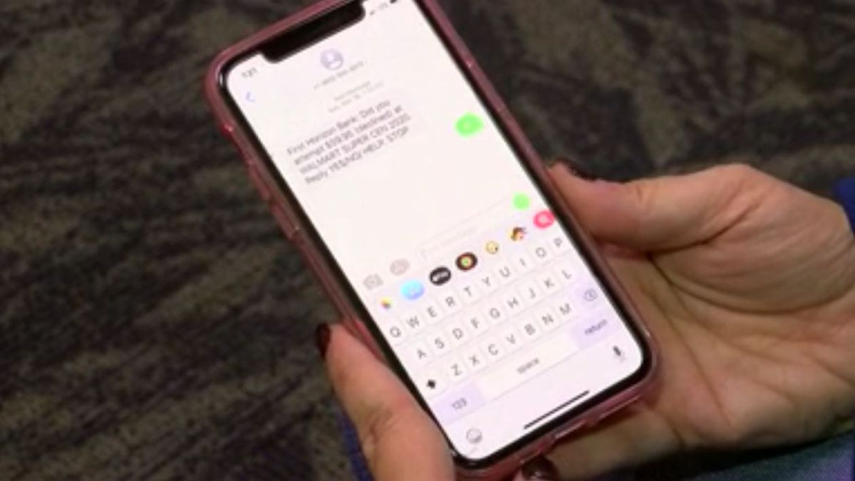 Shelby County Sheriff's Office warns of text message scam posing as your bank