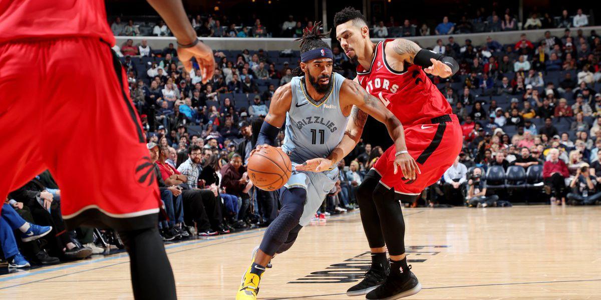 NBA-best Raptors beat Grizzlies