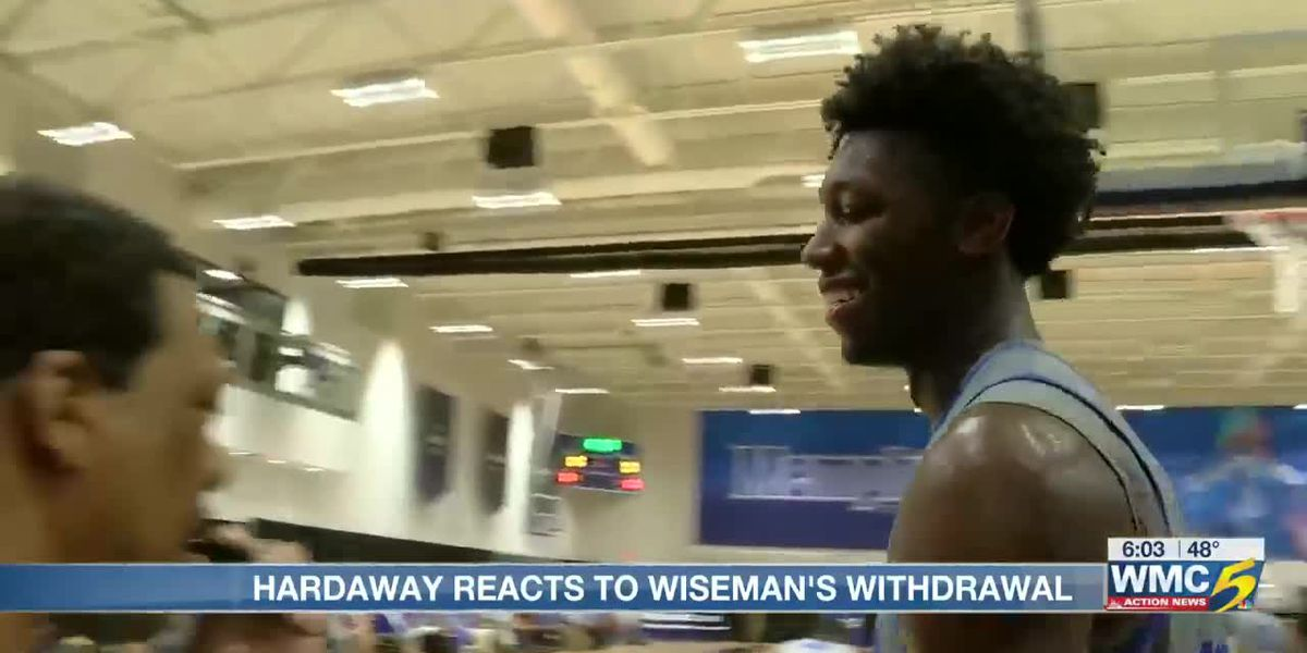 Hardaway reacts to Wiseman's decision