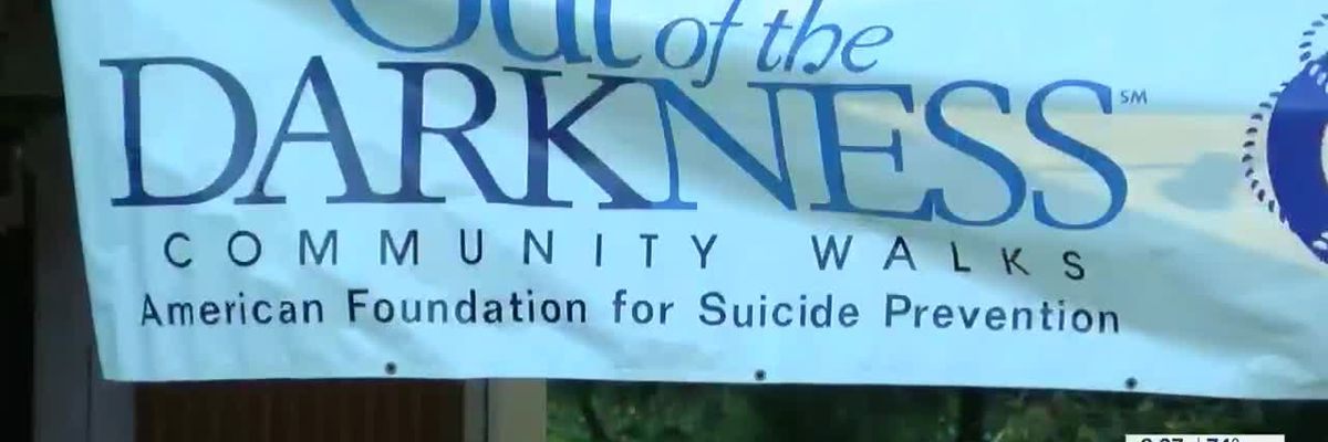 Hundreds raise awareness about suicide prevention