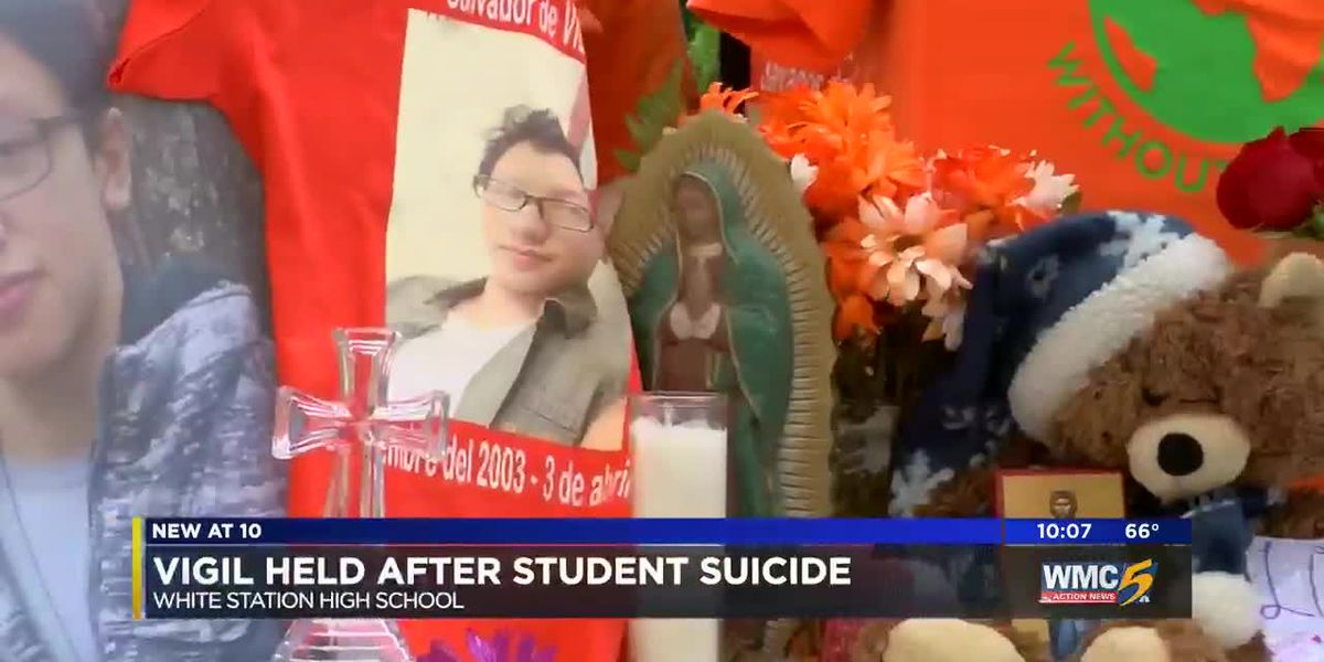 White Station community holds vigil for bullied student who committed suicide