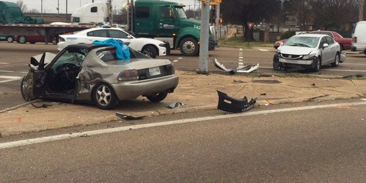 Young crash victim taken to hospital in critical condition