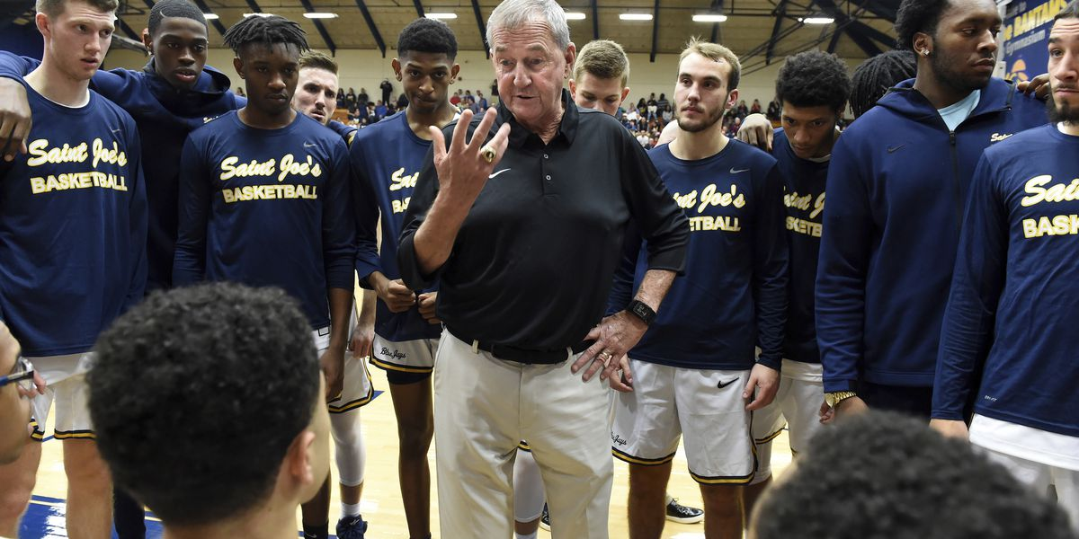 Hall of Famer Jim Calhoun returns to coach DIII St. Joe's