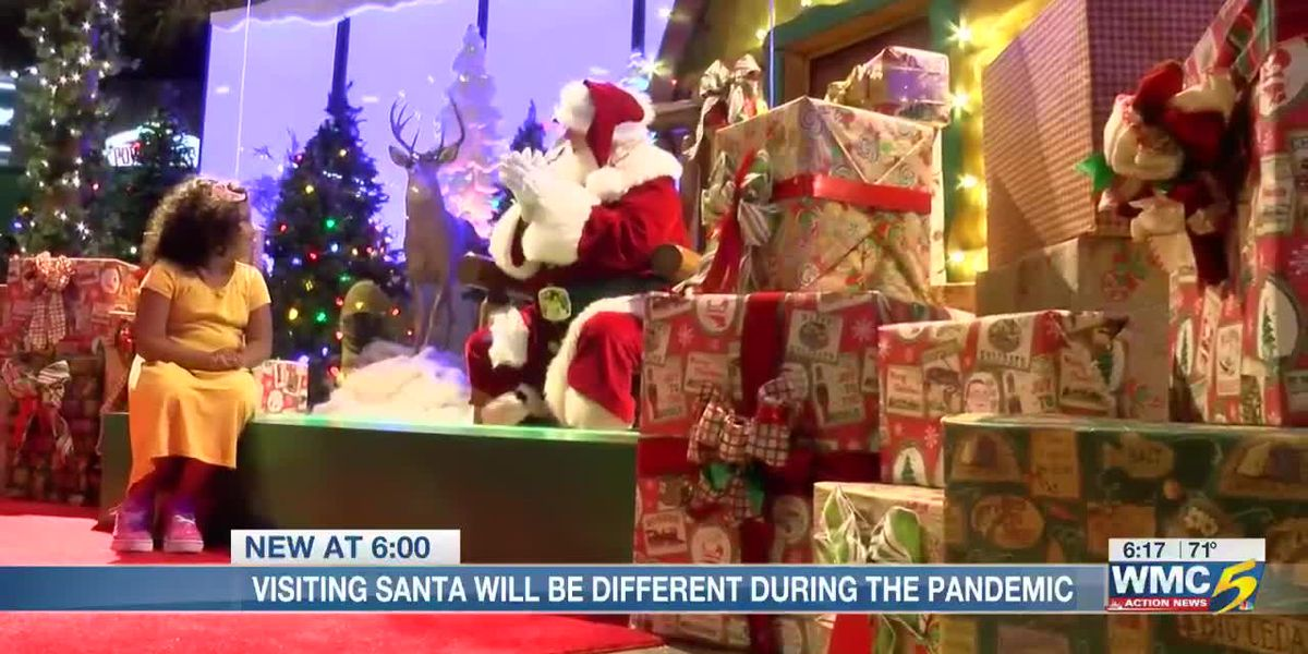 Visiting Santa will be different during the pandemic