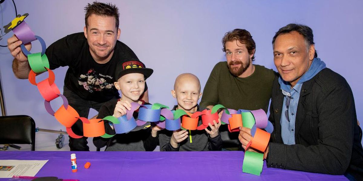'Bluff City Law' cast visits St. Jude Children's Hospital