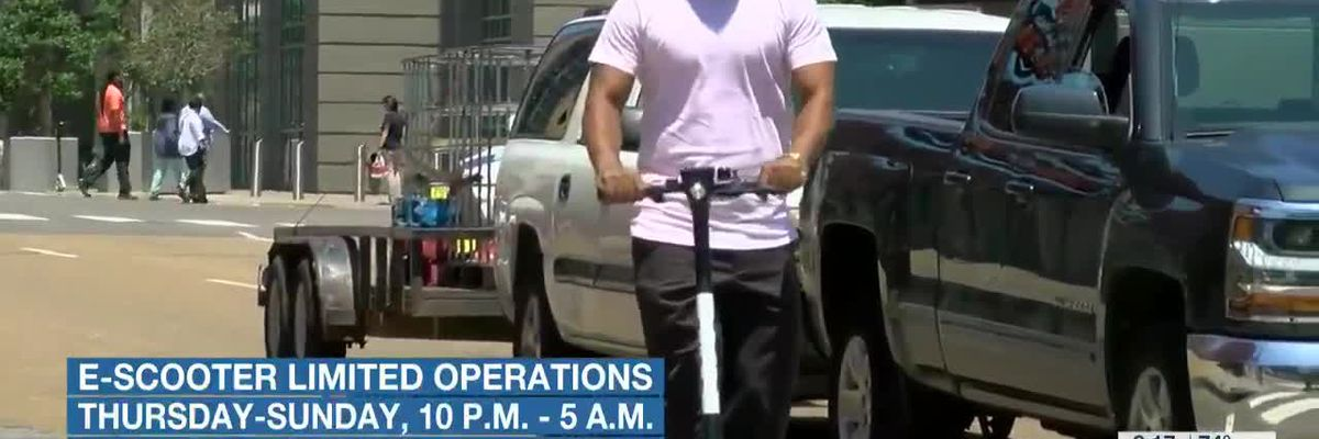 City of Memphis limiting e-scooter operations for Fourth of July weekend