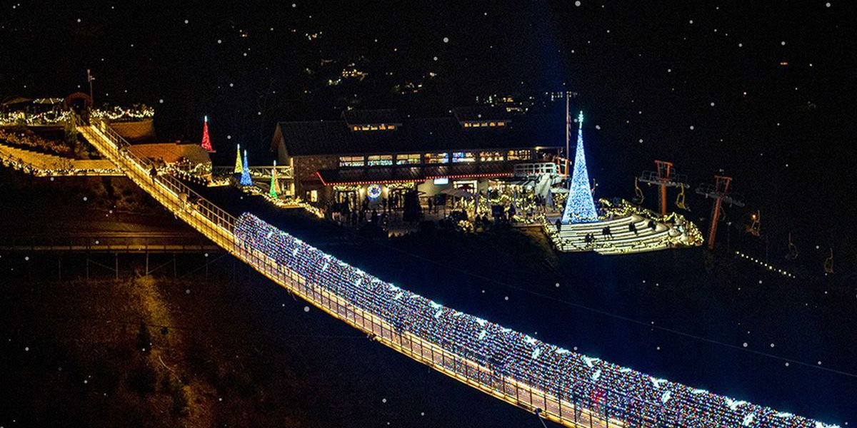 'Lights Over Gatlinburg' open at Gatlinburg SkyBridge