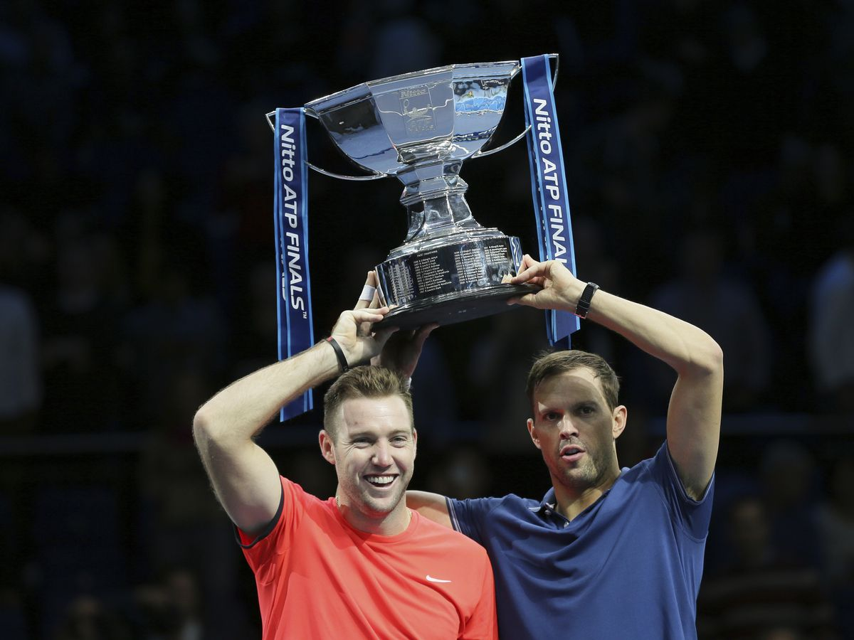 Bryan, Sock save match point to win ATP Finals doubles title