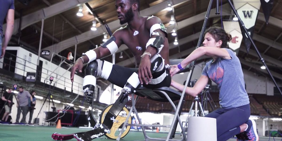 Best Life: Future of prosthetic limbs, blade running